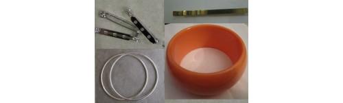 Bases para pulseras, anillos y/o broches