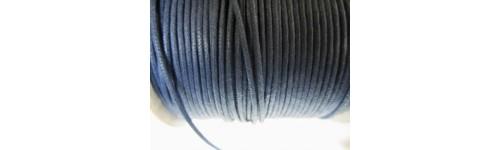 Cordones de algodón (simil cuero)