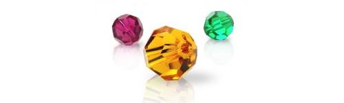 Bola de cristal facetado Swarovski Components