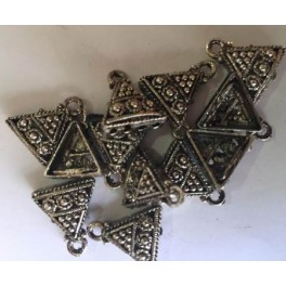 plata india nº8 triángulo